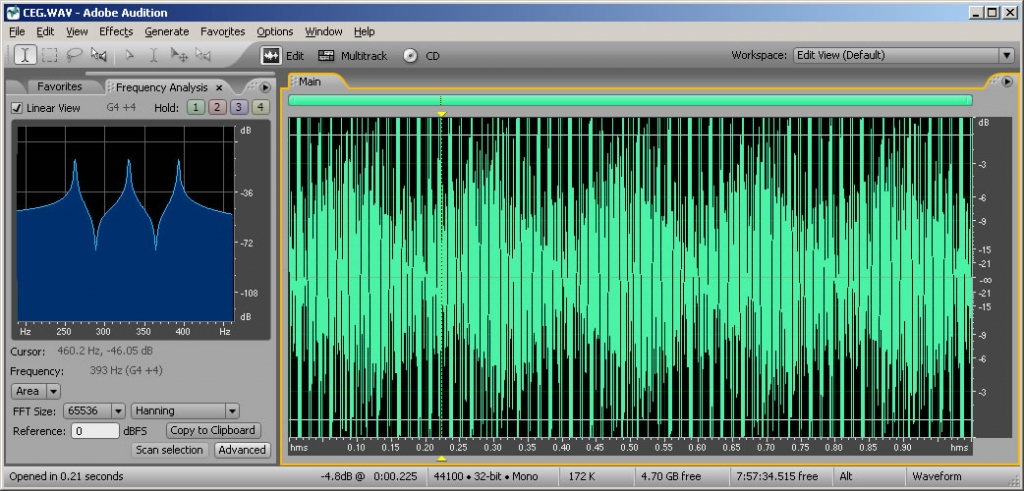 analyzing sound Audio spectrum analyzer has variable displays, fast fourier transform for easy to install, easy to use and very functional sound spectrum analysis software.